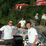 Highlight for Album: Tauchunfall Attersee 1.8.2001